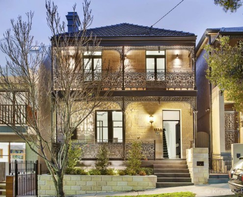 Front of the house, Rozelle